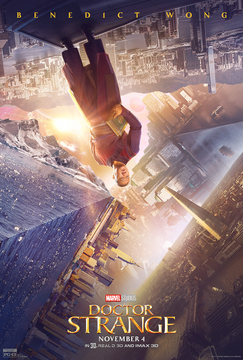 Doctor Strange: il character poster di Benedict Wong