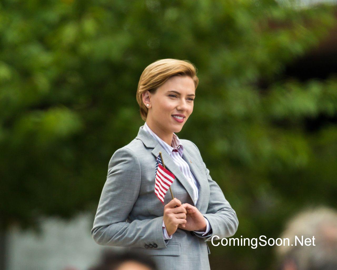 Rock That Body: Scarlett Johansson in una foto scattata sul set