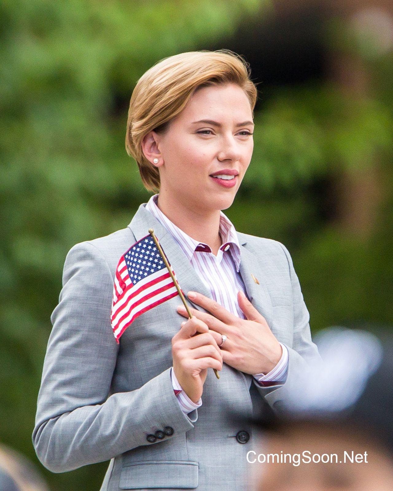 Rock That Body: Scarlett Johansson sul set