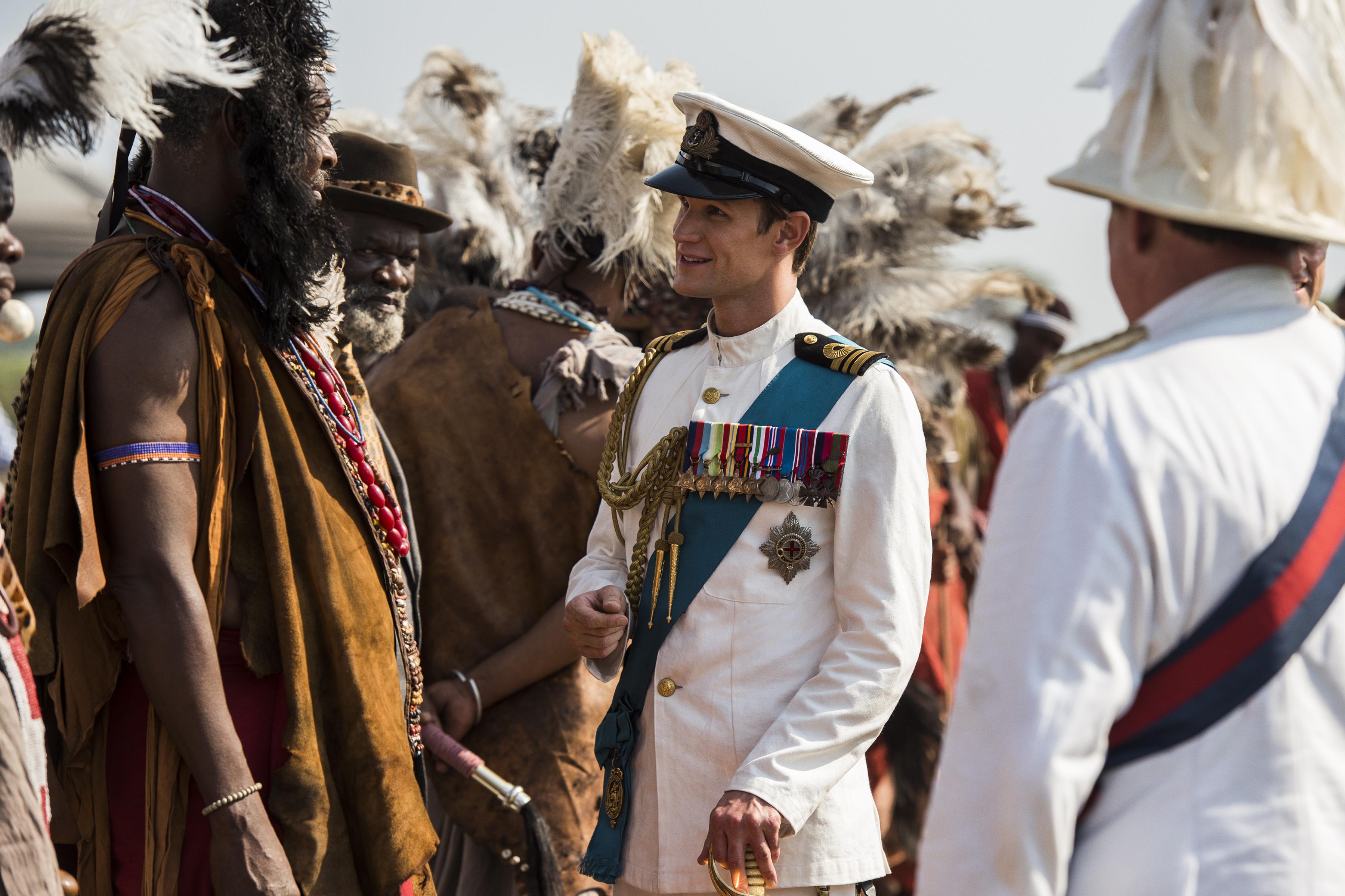 The Crown: Matt Smith in una foto della serie Netflix