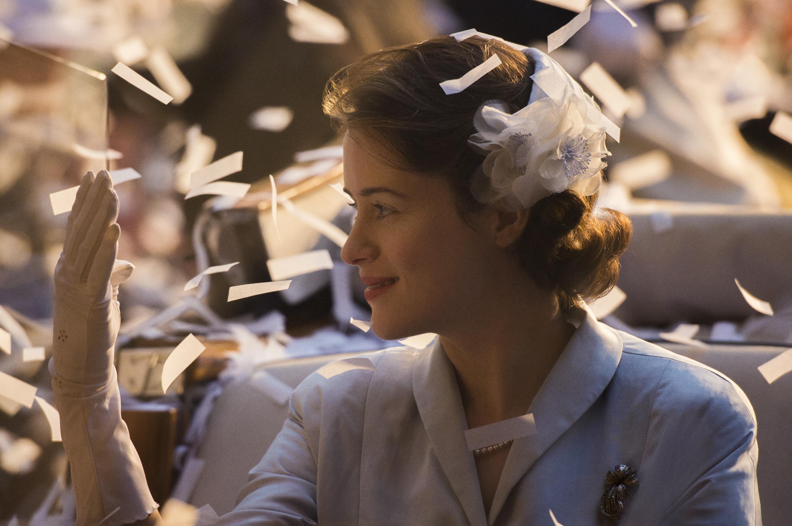 The Crown: l'attrice Claire Foy in una foto della serie