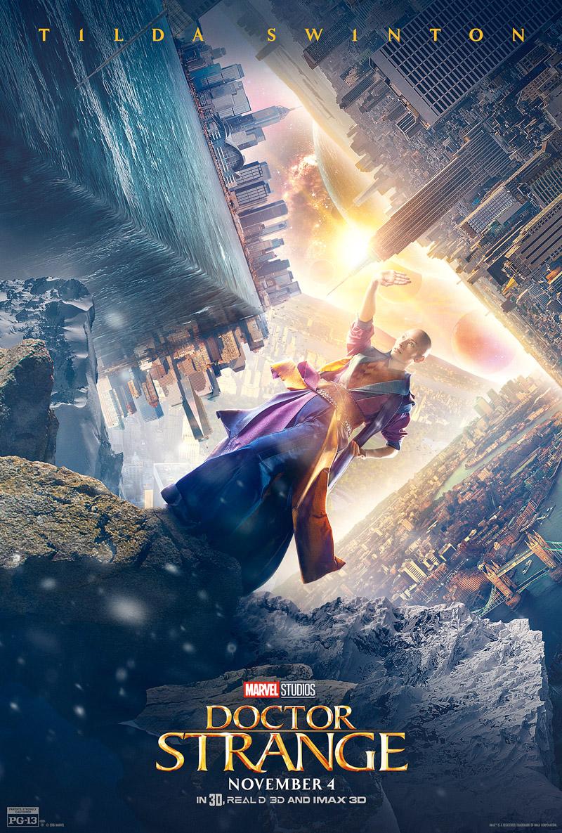 Doctor Strange: il character poster di Tilda Swinton