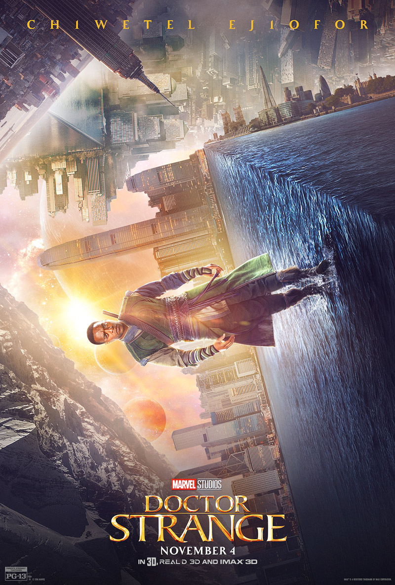 Doctor Strange: il character poster di Chiwetel Ejiofor