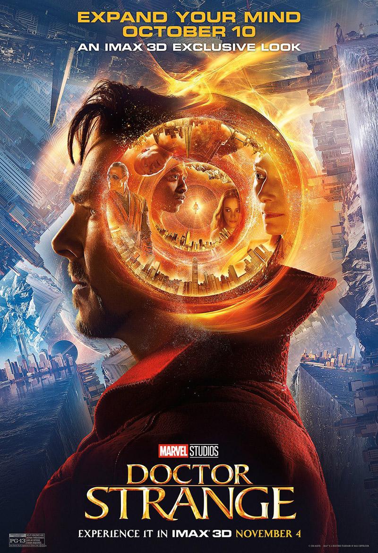 Doctor Strange: la locandina del film in versione IMAX