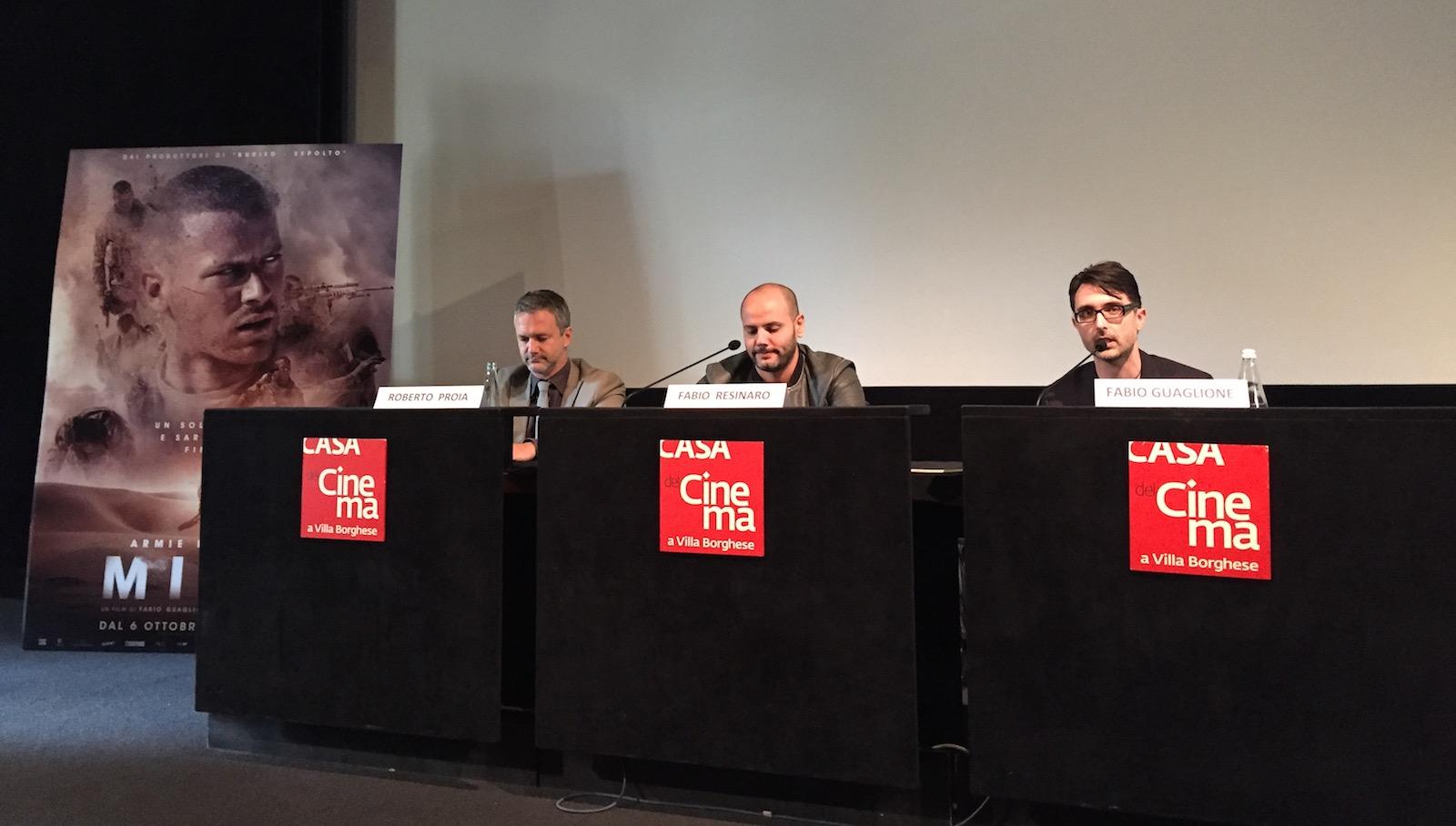 Mine: I registi Fabio Guaglione e Fabio Resinaro in conferenza a Roma