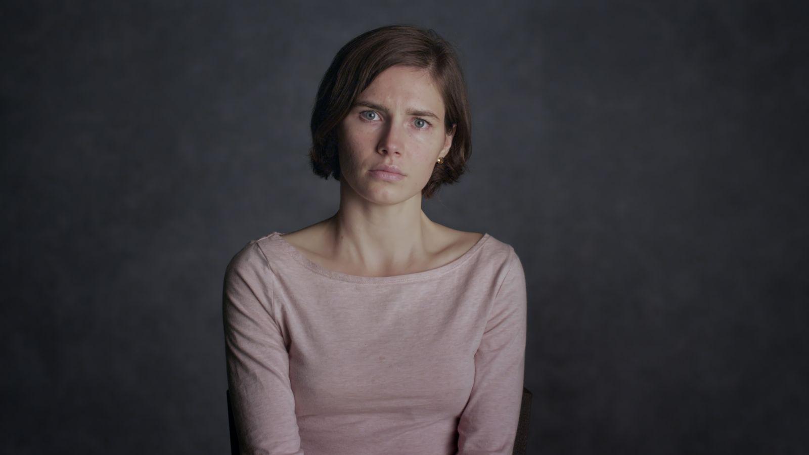 Amanda Knox: la Knox in una scena del documentario