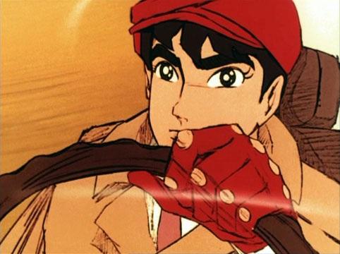 L'Uomo Tigre: Naoto Date senza maschera in un'immagine della serie