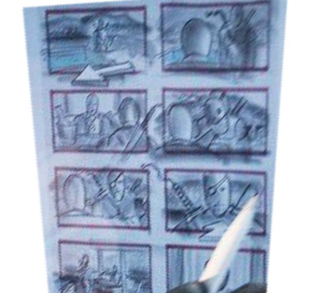 Justice League: uno storyboard