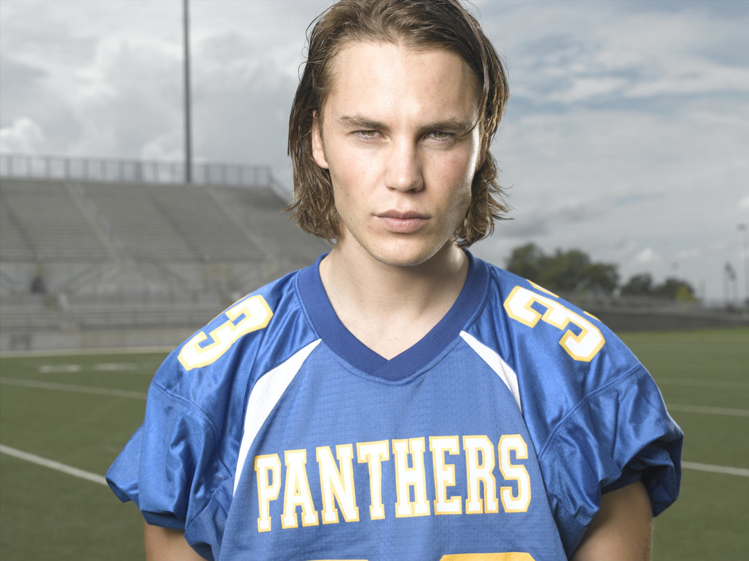 Friday Night Lights: Taylor Kitsch in una foto promozionale per la serie