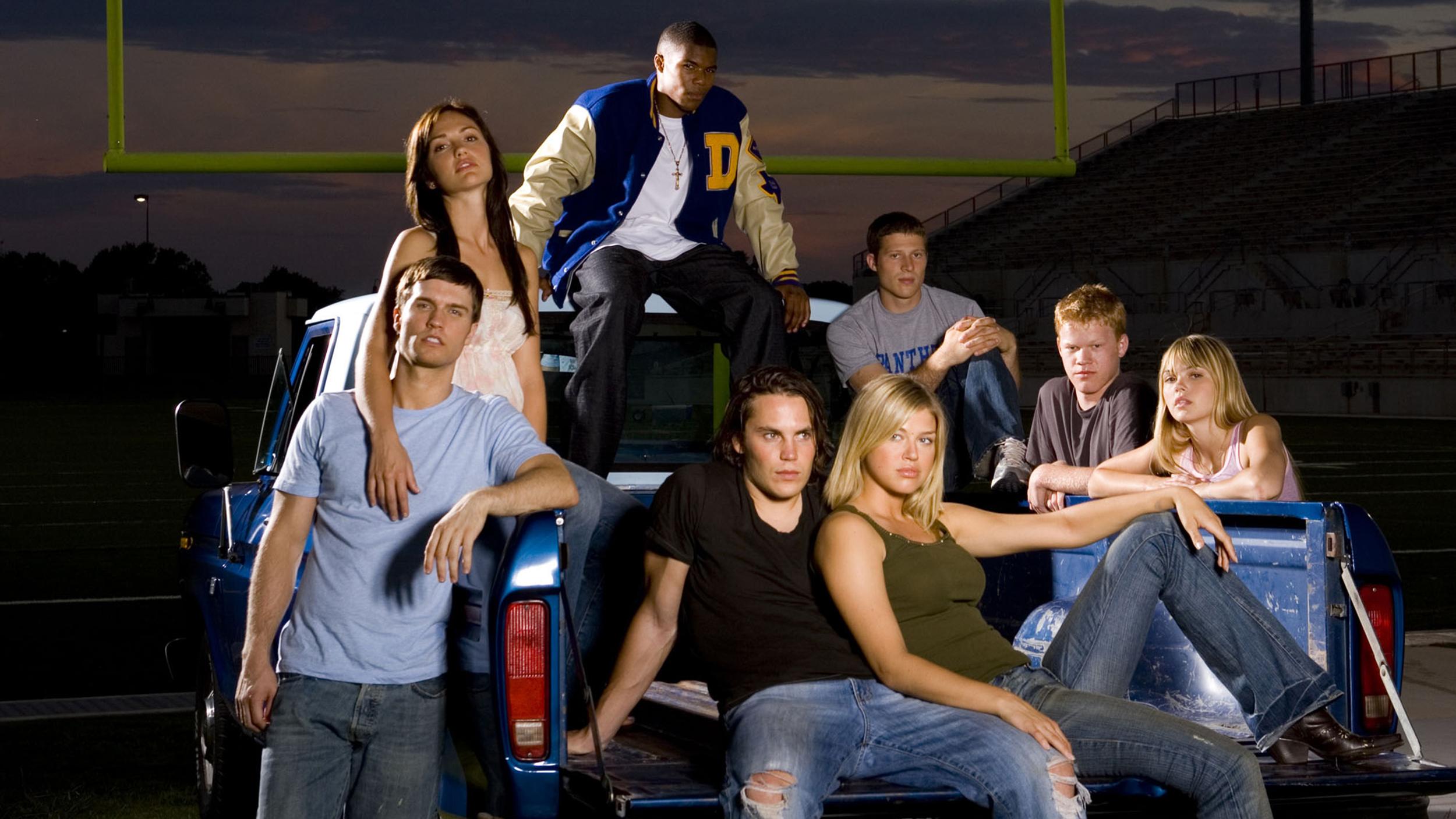 Friday Night Lights: un'immagine promozionale per i membri del cast
