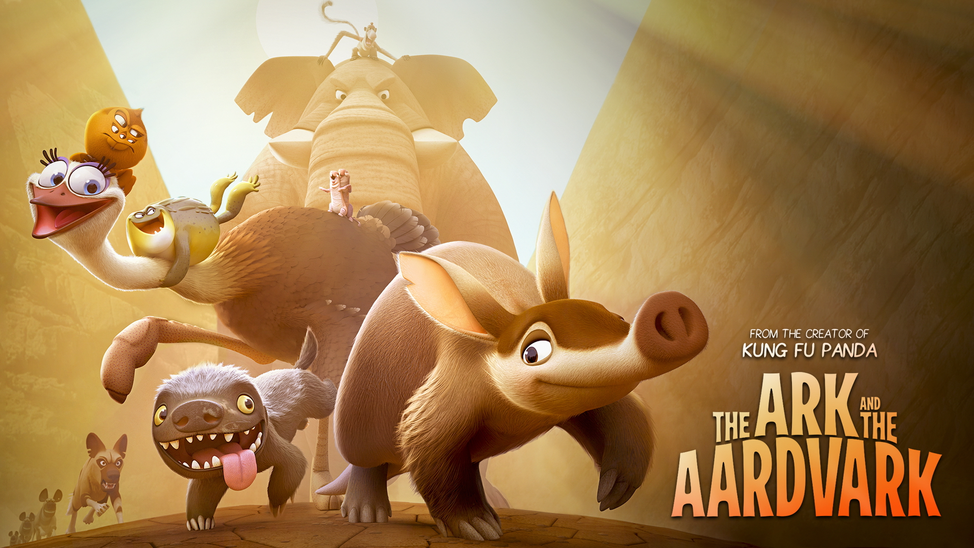 The Ark and the Aardvark: il primo banner del film