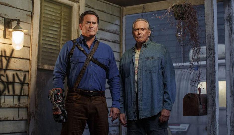 Ash vs Evil Dead: Bruce Campbell e Lee Majors nella stagione 2