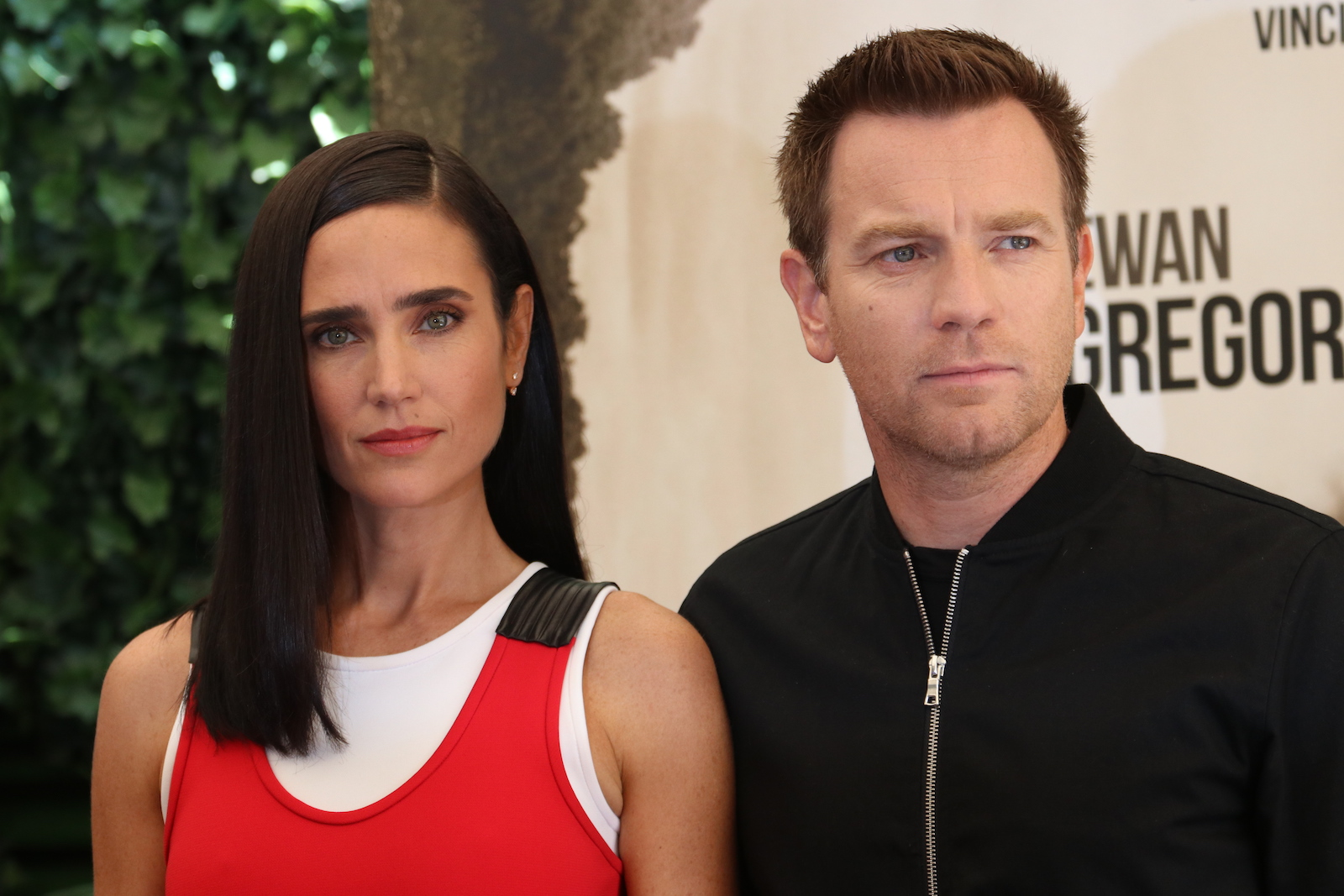 America Pastoral: il regista Ewan McGregor e Jennifer Connelly al photocall