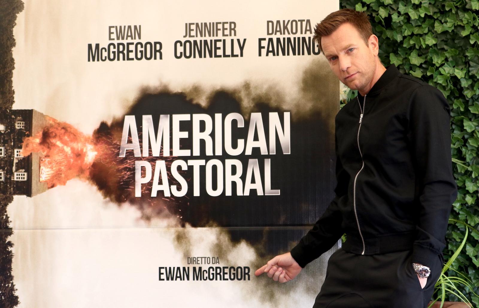 American Pastoral: un fiero Ewan McGregor al photocall