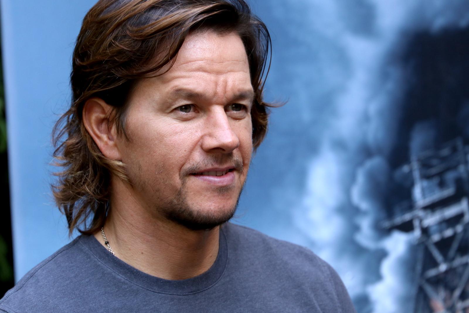 Deepwater: un sorridente Mark Wahlberg al photocall