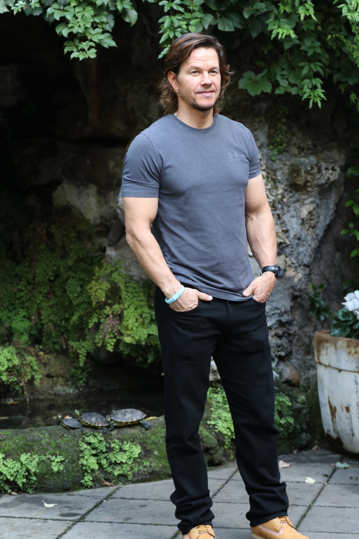 Deepwater: Mark Wahlberg in posa al photocall