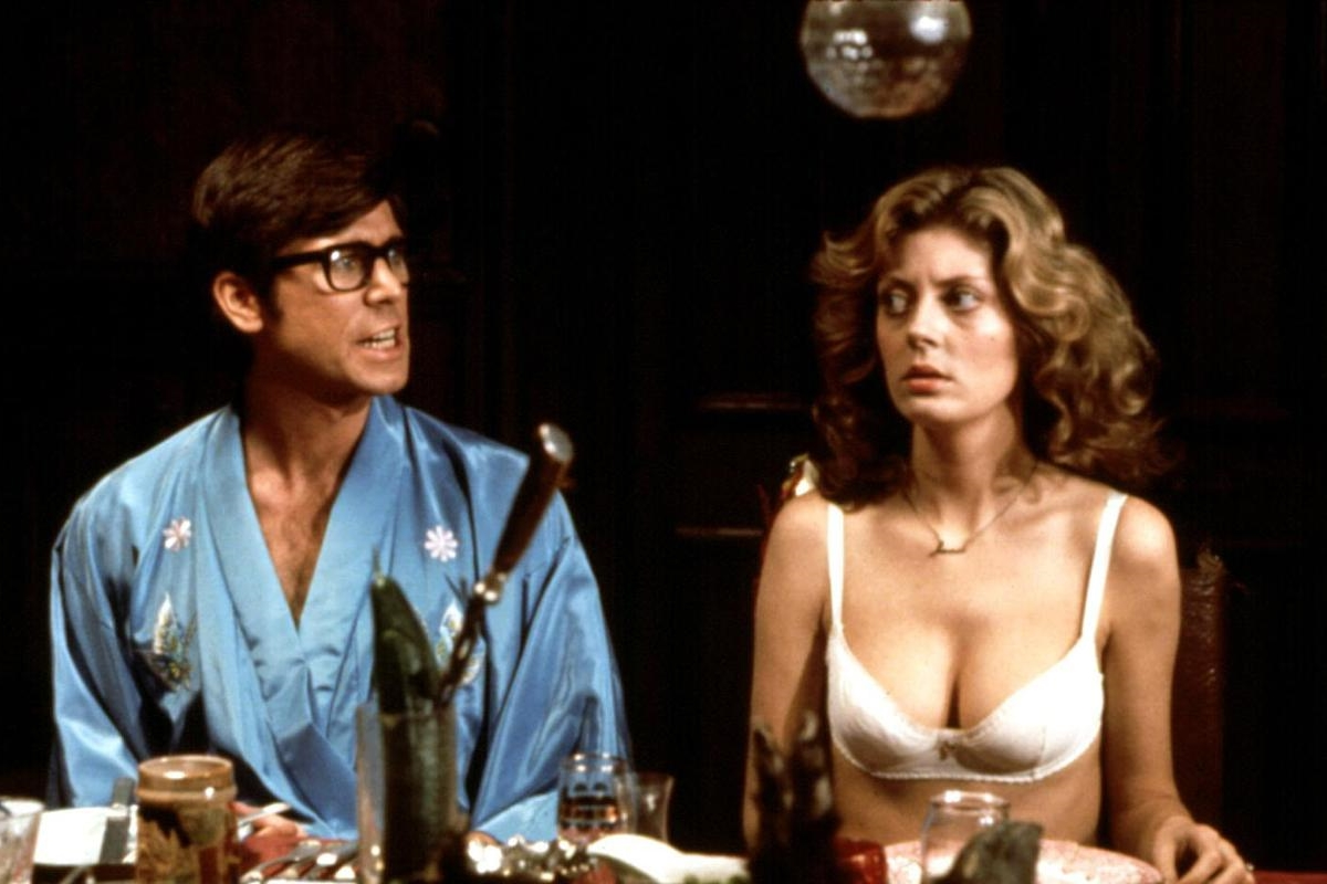 The Rocky Horror Picture Show: Susan Sarandon e Barry Bostwick in un momento del film