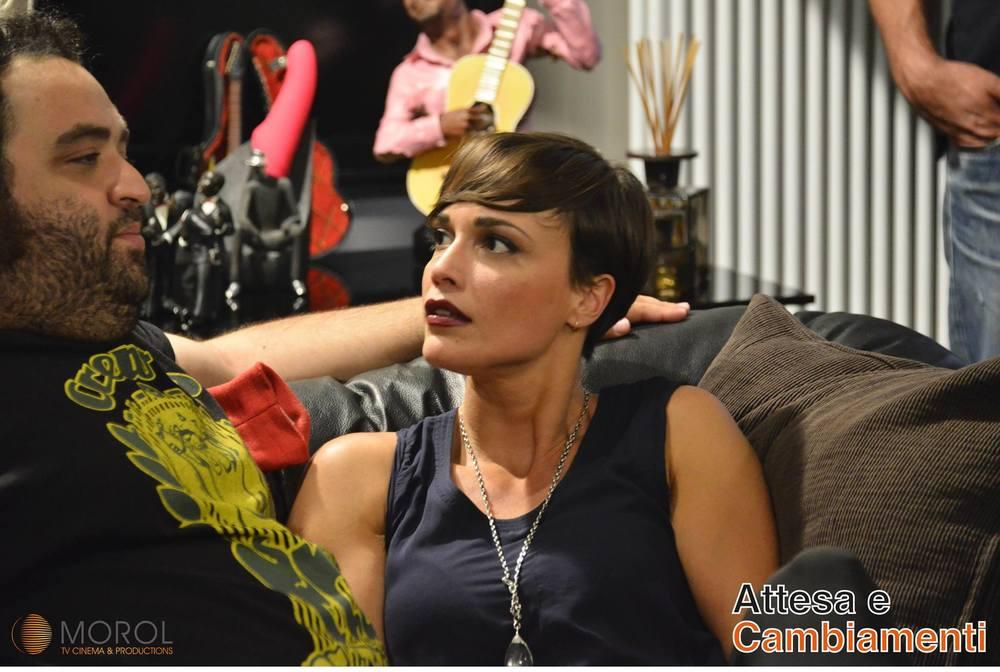 Attesa e cambiamenti: Roberta Giarrusso in una foto del film