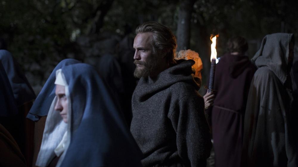 Il sogno di Francesco: Jérémie Rénier in una scena del film