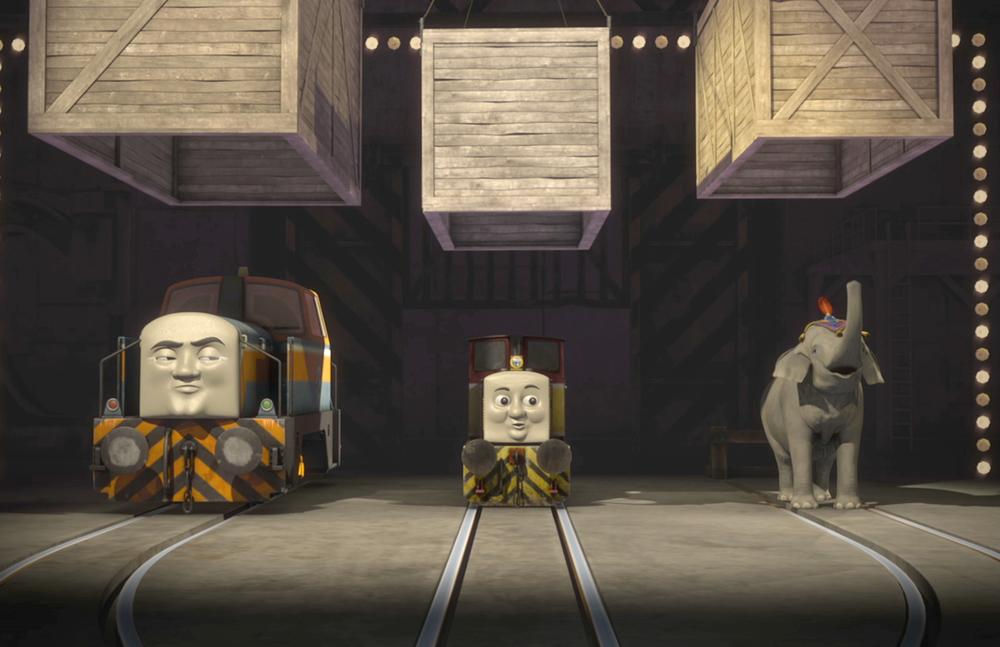 Il trenino Thomas - La grande corsa: un'immagine del film animato