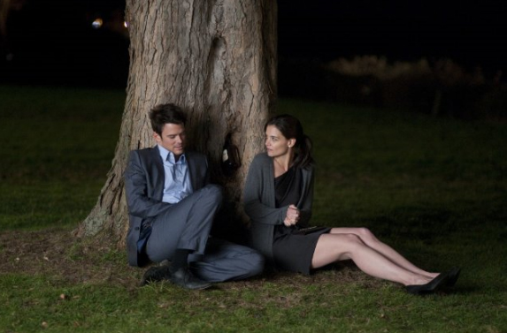 Josh Duhamel e Katie Holmes in The Romantics