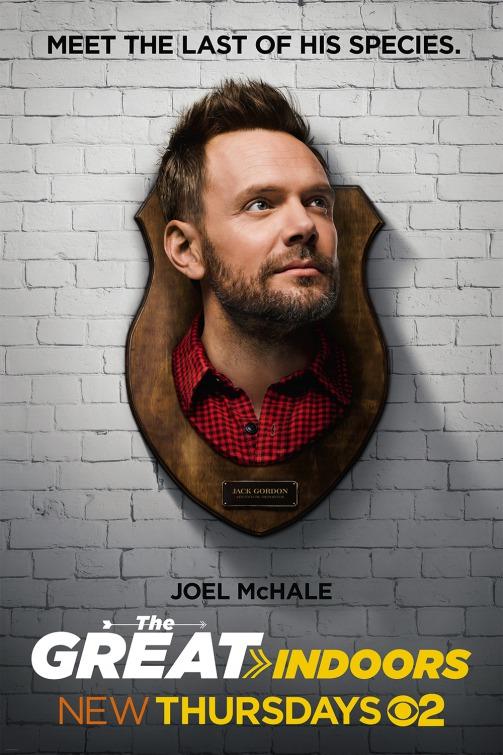 The Great Indoors: un character poster per  Joel McHale