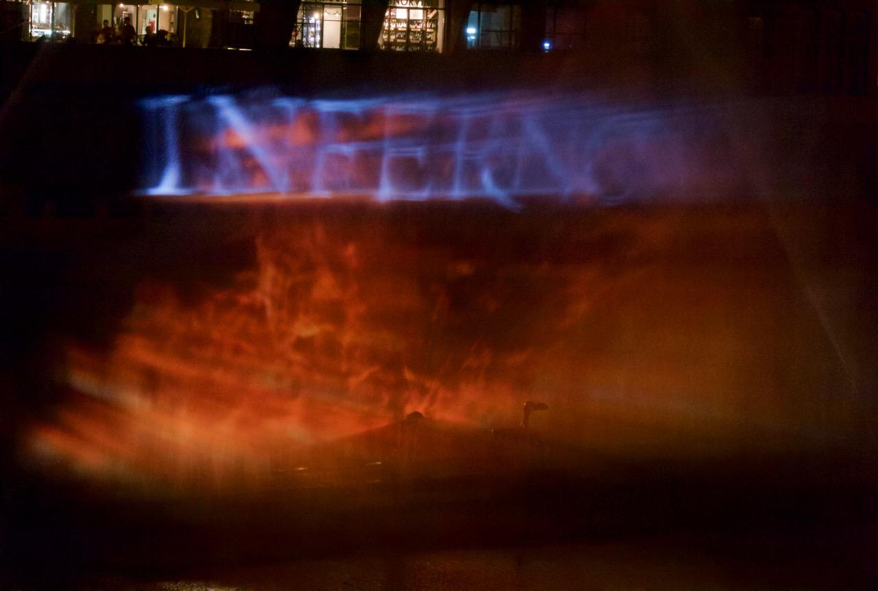 Inferno: il trailer proiettato sull'Arno