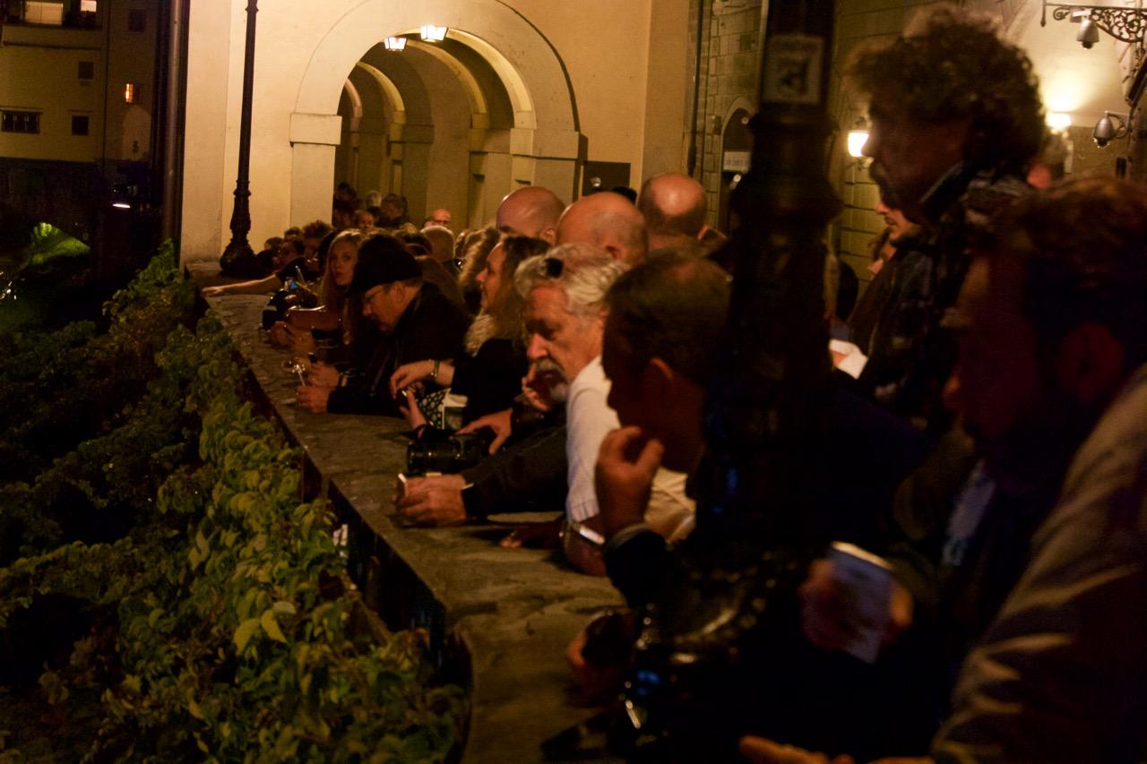 Inferno: il pubblico di Firenze sull'Arno