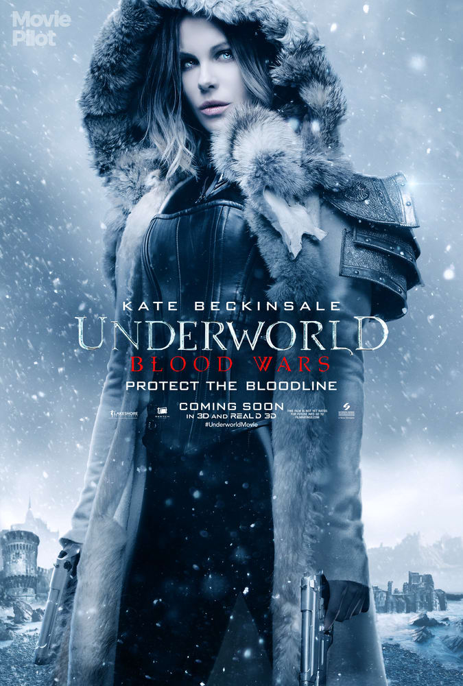 Underworld: Blood Wars - Il character poster di Kate Beckinsale