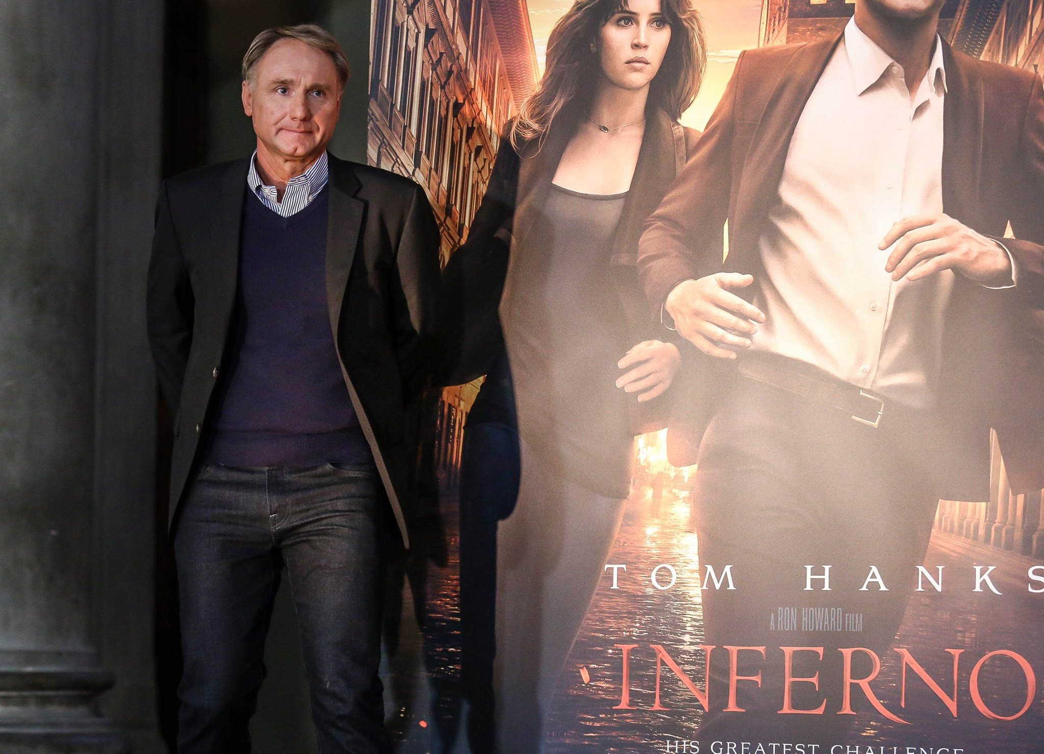 Inferno: lo scrittore Dan Brown a Firenze