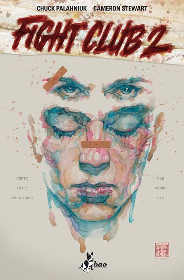La copertina del graphic novel Fight Club 2