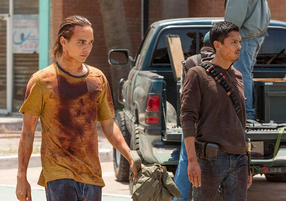 Fear the Walking Dead: un momento dell'episodio Wrath