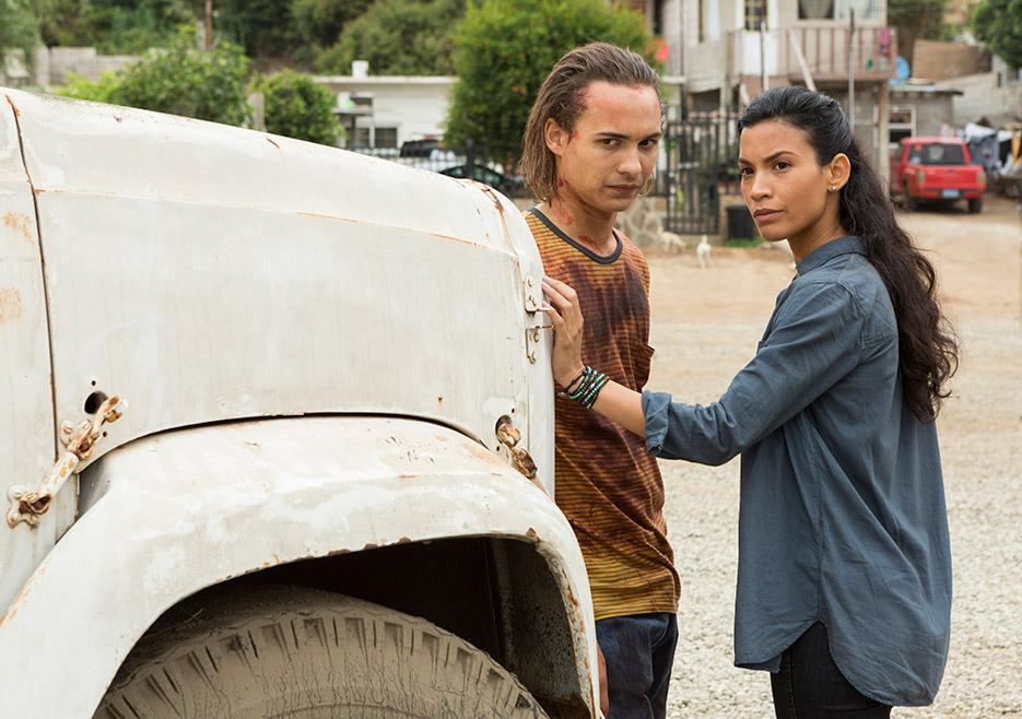 Fear the Walking Dead: una scena con Frank Dillane nell'episodio Wrath