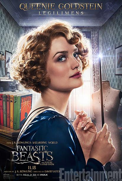 Animali Fantastici e Dove Trovarli: il character poster di Queenie