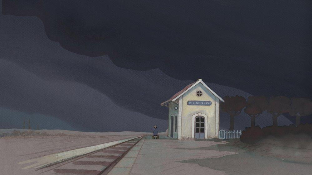 Louise by the Shore: un momento del film animato