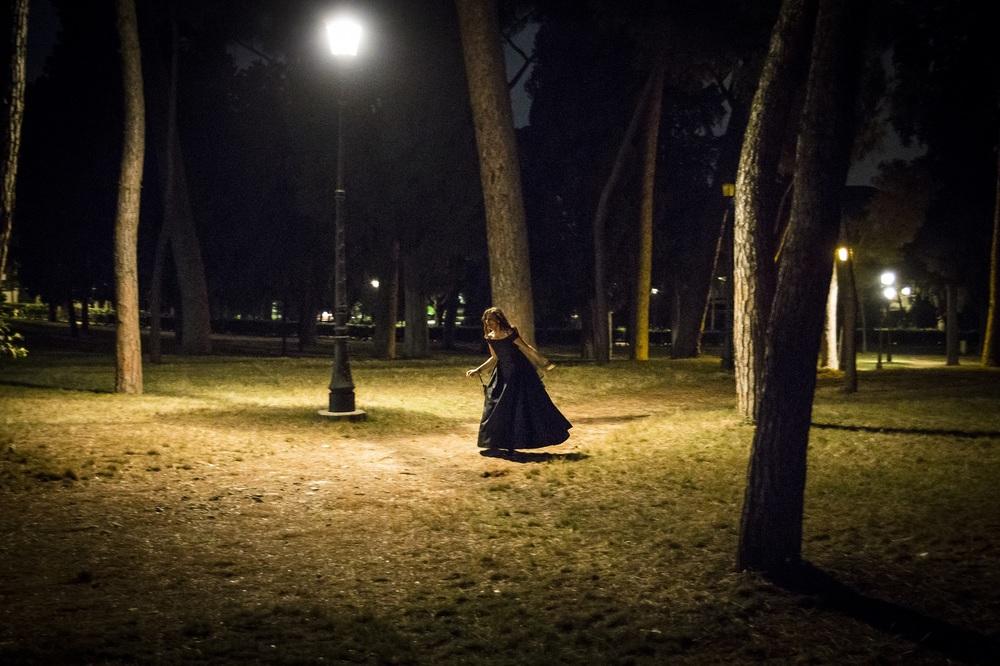 Maria per Roma: una scena notturna del film