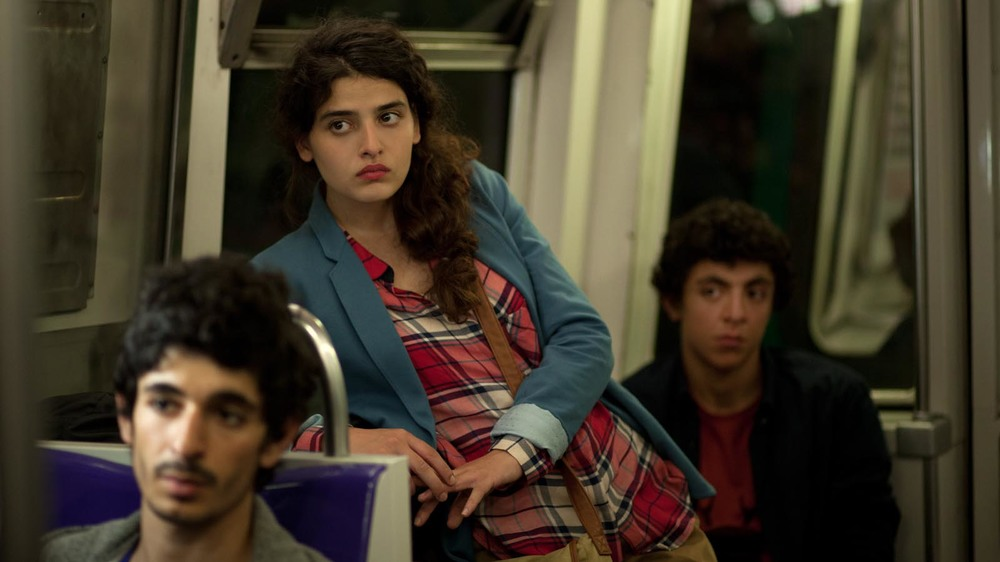 Nocturama: Hamza Meziani e Manal Issa in una scena del film