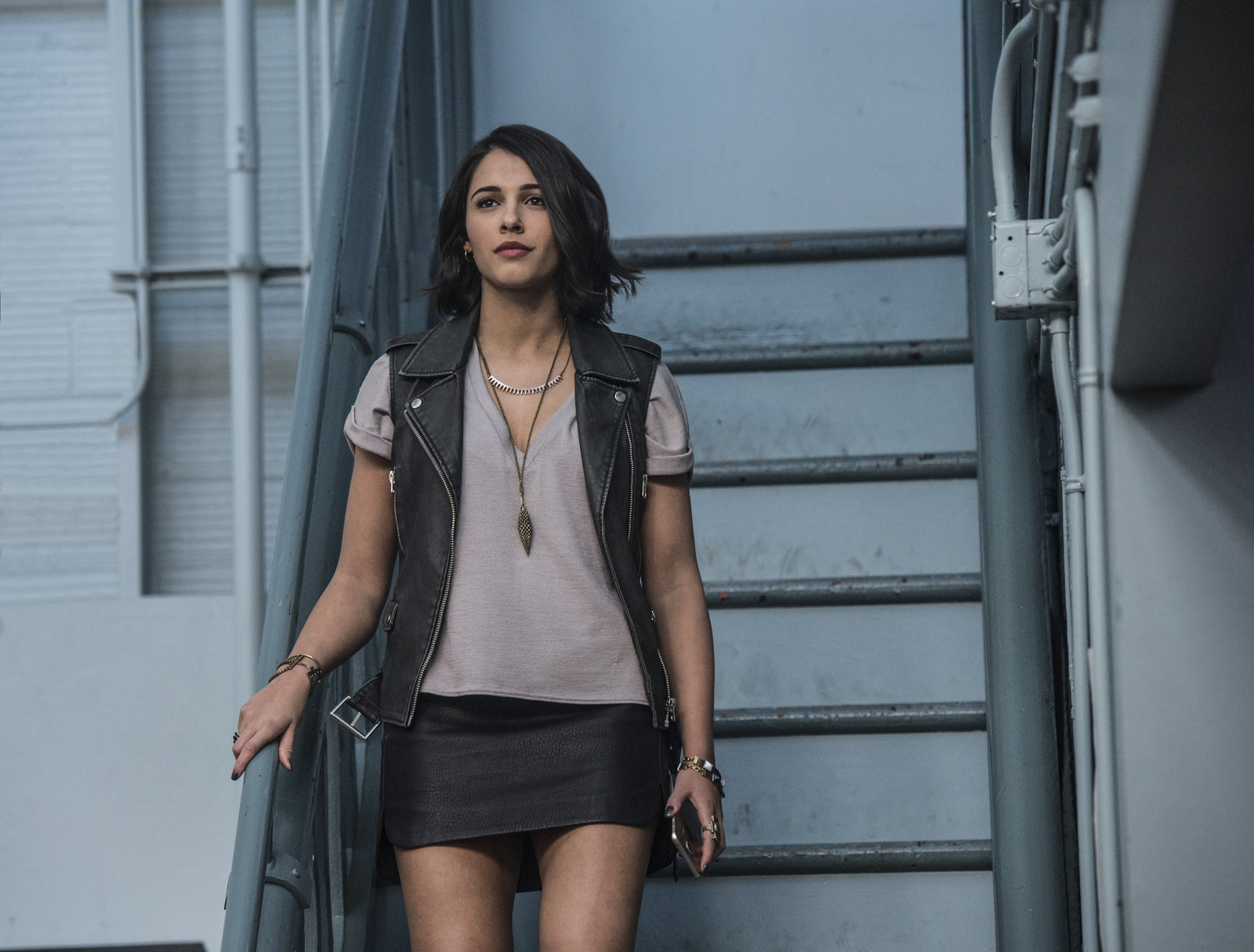 Power Rangers: l'attrice Naomi Scott in una foto del film