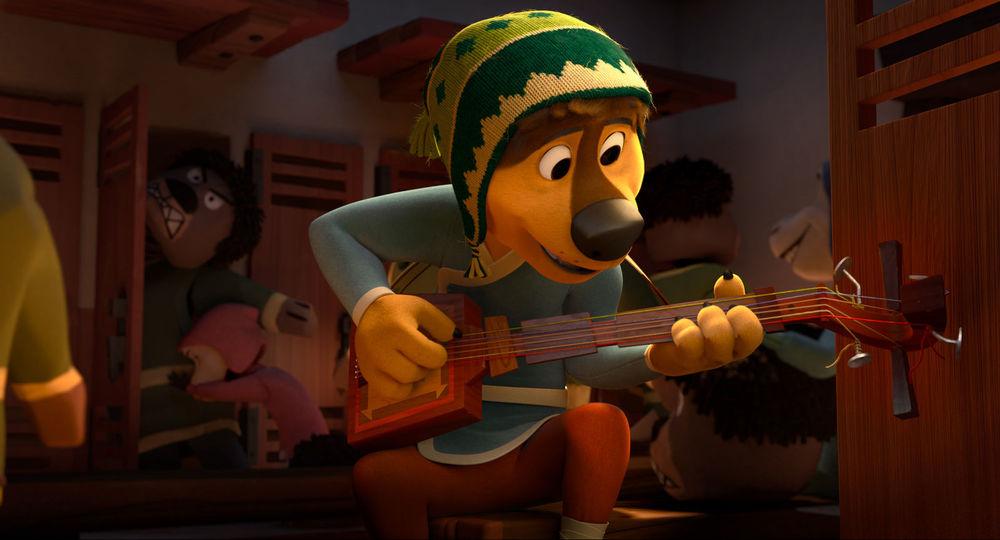 Rock Dog: un'immagine del film animato