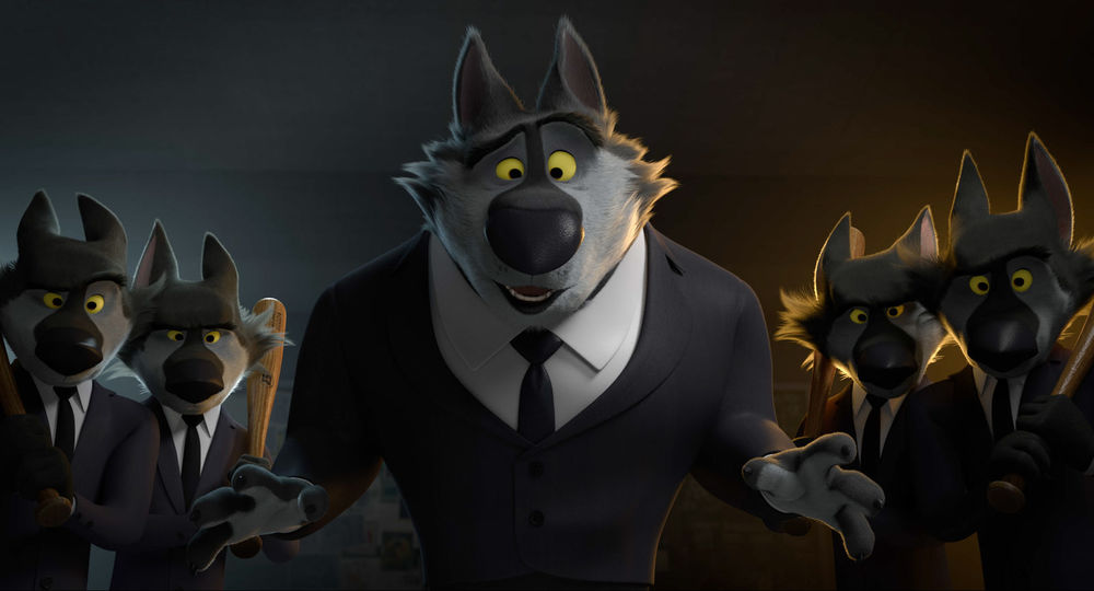 Rock Dog: una scena tratta dal film animato