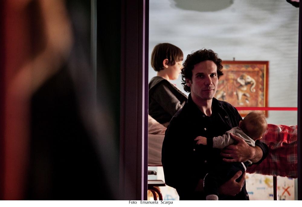 Sole cuore amore: Francesco Montanari in una scena del film