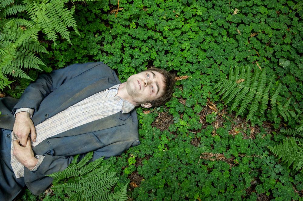 Swiss Army Man - Un amico multiuso: Daniel Radcliffe in un'immagine del film