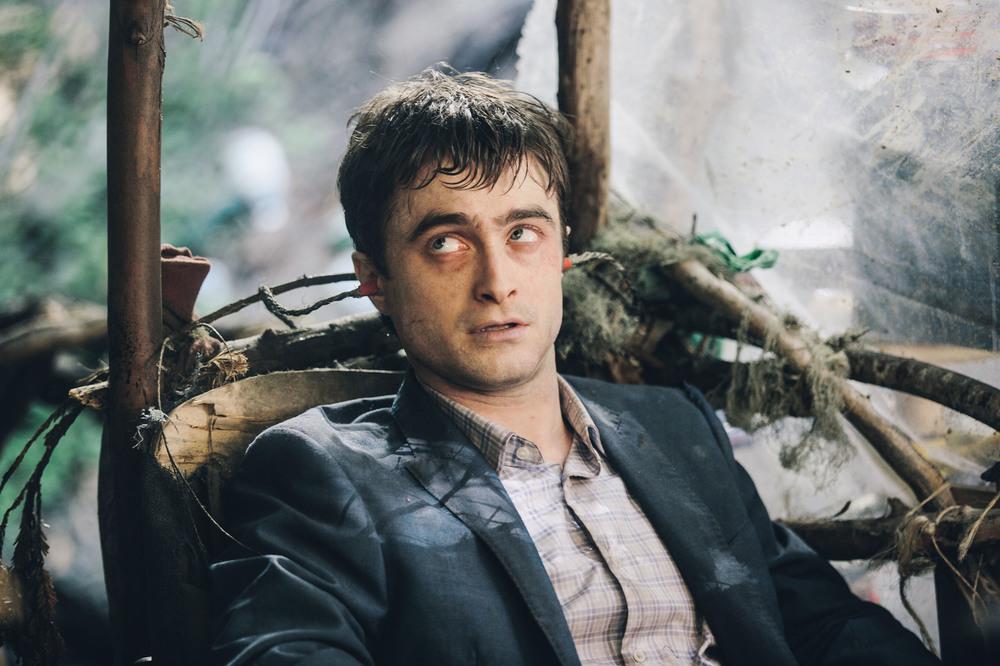Swiss Army Man - Un amico multiuso: Daniel Radcliffe in una scena del film