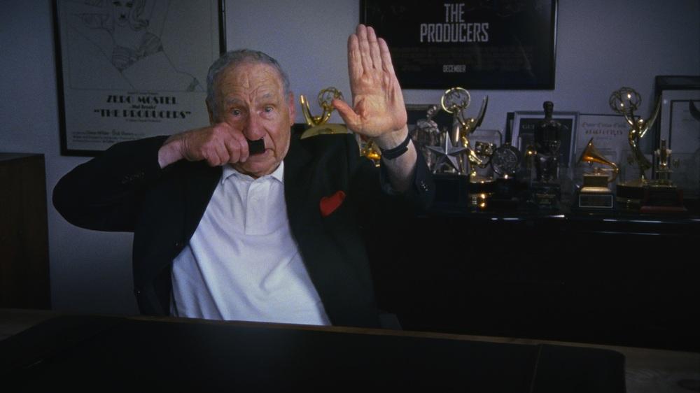 The Last Laugh: Mel Brooks in un'immagine del documentario