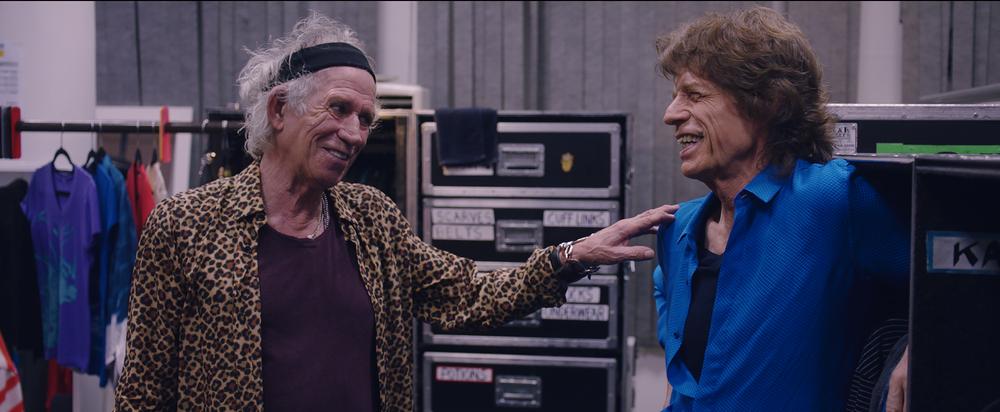 The Rolling Stones Olé, Olé, Olé!: A Trip Across Latin America, Mick Jagger e Keith Richards in un'immagine del documentario
