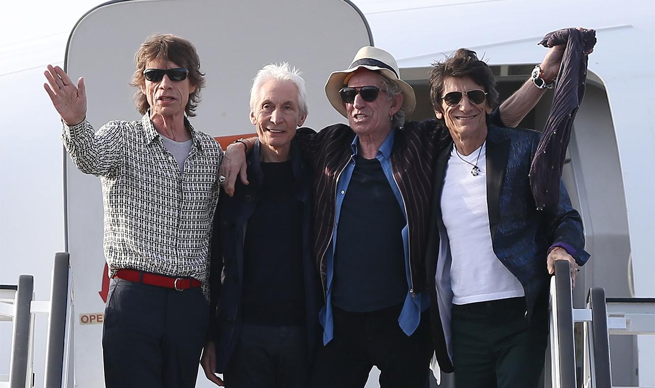The Rolling Stones Olé, Olé, Olé!: A Trip Across Latin America, un'immagine della band