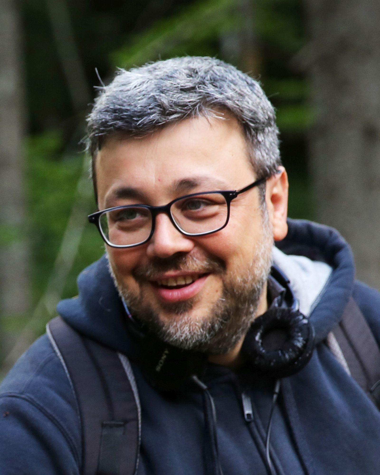 La pelle dell'orso: il regista Marco Segato sul set del film