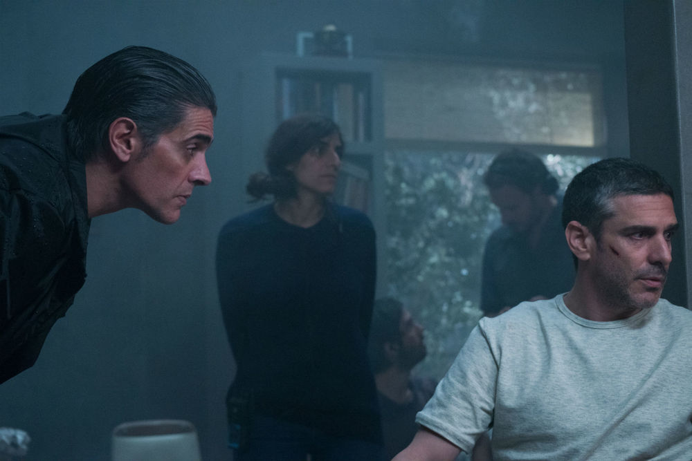 At the End of the Tunnel: Pablo Echarri e Leonardo Sbaraglia in una scena del film