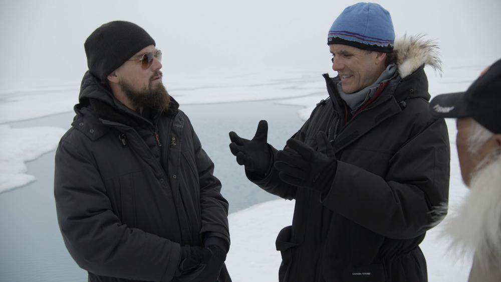 Punto di non ritorno: Leonardo DiCaprio in un'immagine del documentario