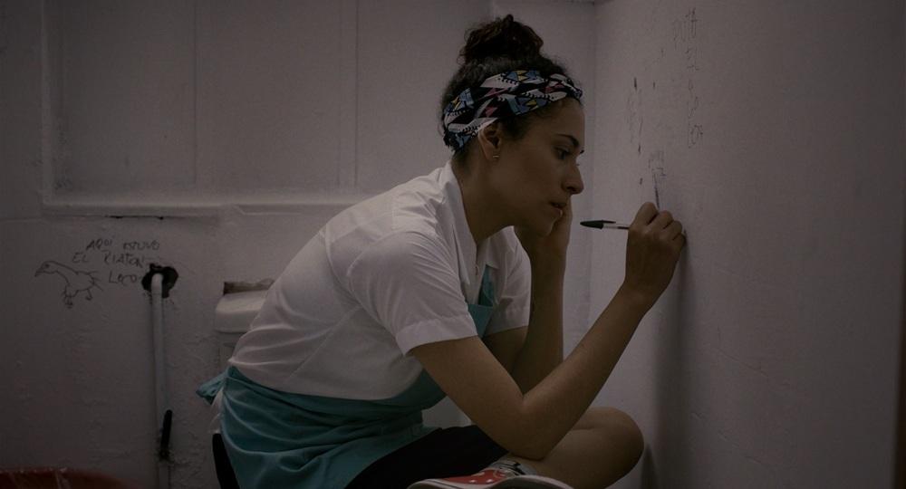 The Empty Box: Claudia Sainte-Luce in un'immagine tratta dal film